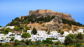 Lindos Rhodes Greece Europe Royalty Free Stock Image