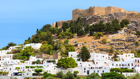 Lindos Rhodes Greece Europe Royalty Free Stock Photography