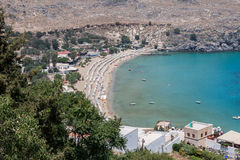 Lindos Rhodes Greece Royalty Free Stock Images