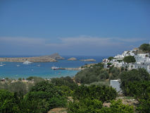 Lindos Rhodes Greece Royalty Free Stock Image