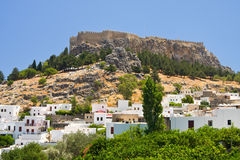 Lindos, Rhodes, Greece Stock Image