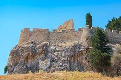 Lindos. Rhodes, Greece Royalty Free Stock Photos