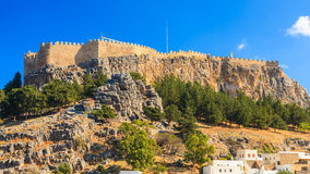 Lindos Rhodes Greece Royalty Free Stock Image