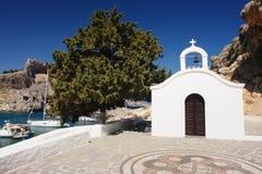 Lindos, Rhodes Island Lizenzfreies Stockbild