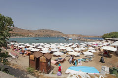 Lindos Rhodes island, Greece Royalty Free Stock Image