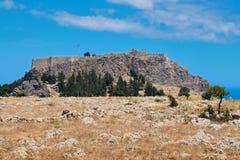 Lindos. Rhodes Island, Greece Stock Image