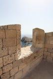 Lindos Rhodes island, Greece Royalty Free Stock Photos