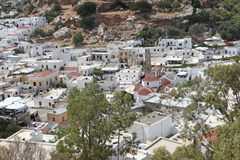 Lindos Rhodes island, Greece Royalty Free Stock Photography