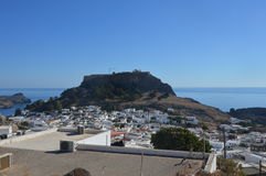 Lindos, Rhodes Royalty Free Stock Photography