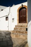 Lindos, Rhodos, Greec Stock Images