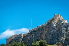 Lindos, Rodi/Grecia 2 maggio 2019 immagine stock libera da diritti
