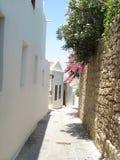 Lindos, Rodos, Grecia Fotografia Stock