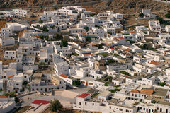 Lindos rooftops Royalty Free Stock Photography