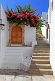 Lindos Streets and Passageways Royalty Free Stock Image