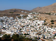 Lindos town Stock Images