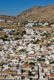 Lindos town Royalty Free Stock Images