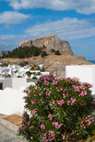 Lindos town. Stock Image