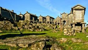 Lindoso świrony w parku narodowym Peneda Geres obrazy royalty free