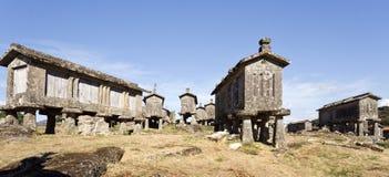 Lindoso Communitarian Granaries Stock Photo
