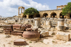 Lindoss akropol Royaltyfri Foto