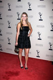 Lindsay Bushman arrives at the ATAS Daytime Emmy Awards Nominees Reception Royalty Free Stock Photography