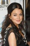 Lindsay Lohan Stock Afbeelding