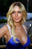 Lindsay Lohan Fotografía de archivo libre de regalías