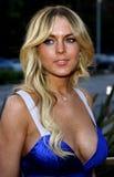 Lindsay Lohan Imágenes de archivo libres de regalías
