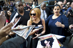Lindsay Lohan 2013 Imagens de Stock Royalty Free