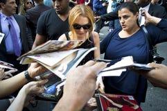 Lindsay Lohan 2013 Foto de archivo