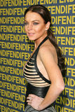 Lindsay Lohan. At the Fendi Redesigned Rodeo Flagship Store Launch and 'Ten Baguettes For Ten Years' Exhibition benefitting Lacma, Fendi, Beverly Hills, CA 02 Royalty Free Stock Photos