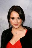 King Kong Lindsay Lohan royaltyfri bild