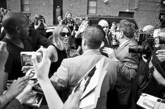 Lindsay Lohan 2013 Obraz Royalty Free