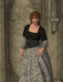Lindsey - Beautiful Medieval Princess of Camelot Stock Photos