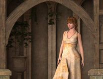 Lindsey - Beautiful Medieval Princess of Camelot - Image 3 Stock Image