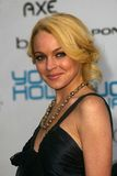 LINDSEY LOHAN Royalty Free Stock Photos