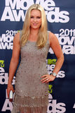 Lindsey Vonn. LOS ANGELES - JUN 5:  Lindsey Vonn arriving at the the 2011 MTV Movie Awards at Gibson Ampitheatre on June 5, 2011 in Los Angeles, CA Royalty Free Stock Images