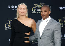 Lindsey Vonn and Kenan Smith Stock Image
