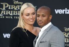 Lindsey Vonn and Kenan Smith Royalty Free Stock Images