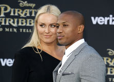 Lindsey Vonn and Kenan Smith Royalty Free Stock Image