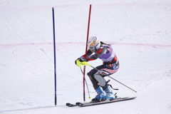 Lindsey Vonn - superstar alpestre de ski Photos libres de droits