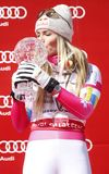 Lindsey Vonn  2015 World Cup in Meribel Royalty Free Stock Photography