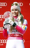 Lindsey Vonn  2015 World Cup in Meribel Stock Photography