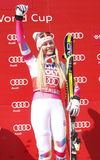 Lindsey Vonn  2015 World Cup in Meribel Royalty Free Stock Photo