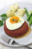 Lindstrom da carne, rissol de carne vermelho sueco imagens de stock royalty free