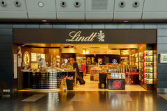 Lindt Chocolate Store royalty free stock photo