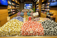 Lindt chocolate and sweet shop Royalty Free Stock Images
