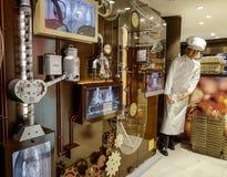 Lindt czekolady sklep w Jungfraujoch zdjęcie royalty free