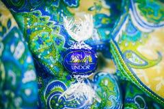 Lindt Lindor czekoladowa trufla Fotografia Royalty Free