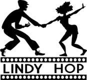 Lindy Hop clip-art Royalty Free Stock Photos